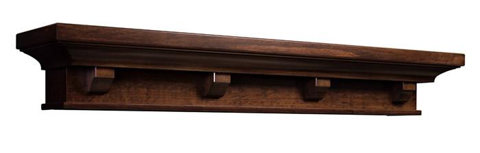 Diy Wood Stoarage Rack Mantel Shelf Plans
