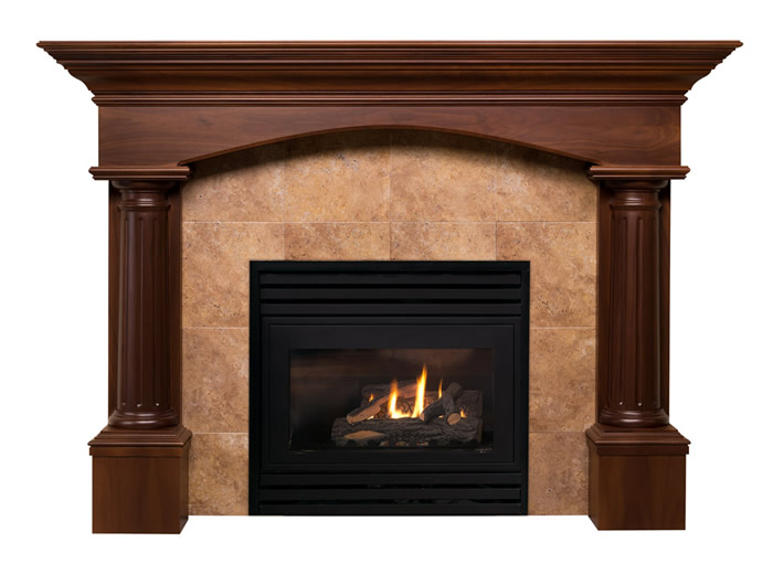 Tuscan Fireplace Mantel Designs by Hazelmere Fireplace Mantels ...