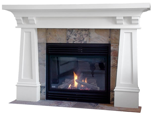 Arts And Crafts Mantels Craftsman Fireplace Mantel Designs By Hazelmere Fir