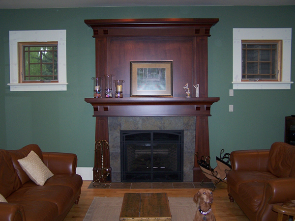 Pics Photos Arts And Crafts Craftsman Fireplace Mantel Designs