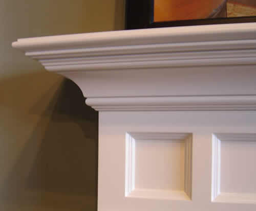 fireplace mantel shelves plans