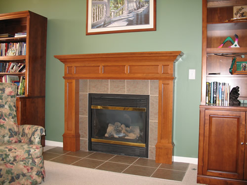 pics photos craftsman fireplace mantels design pictures