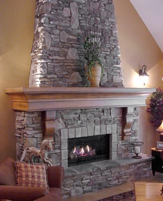 Fireplace Mantel Shelf Designs by Hazelmere Fireplace Mantels | Custom ...